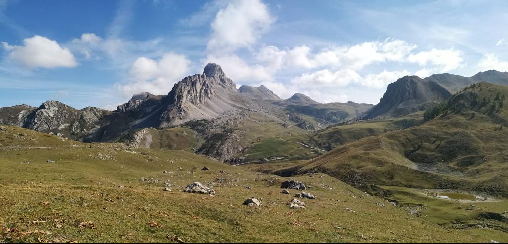 L'Altopiano della Gardetta con al centro la Rocca la Meja - Foto di F.M. Petti